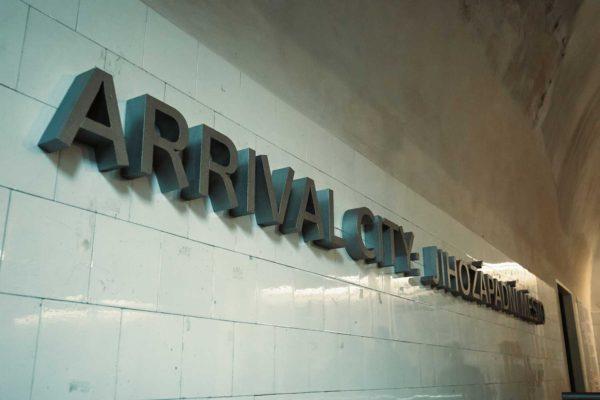 Arrival city: Jihozápadní město