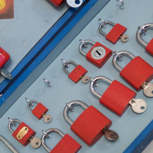 Prague padlocks