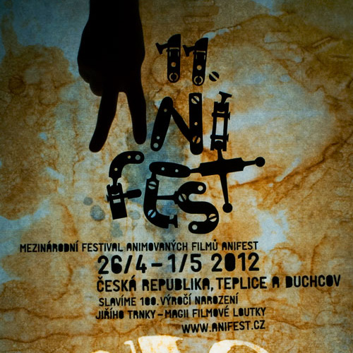 Anifest 2012 vizuální kampaň